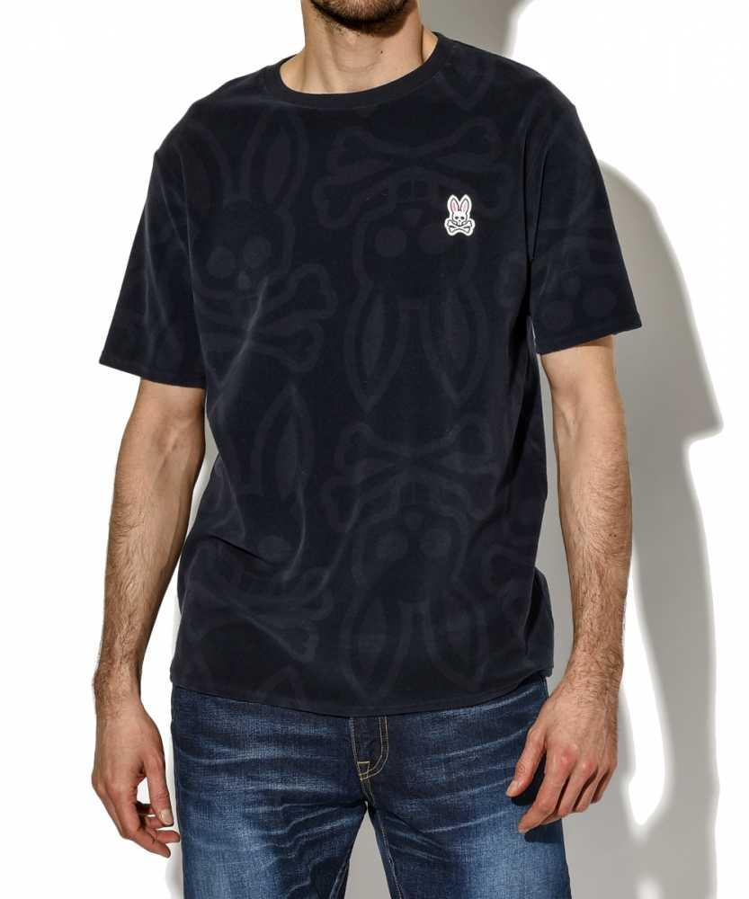 レーザープリント パイルTシャツ