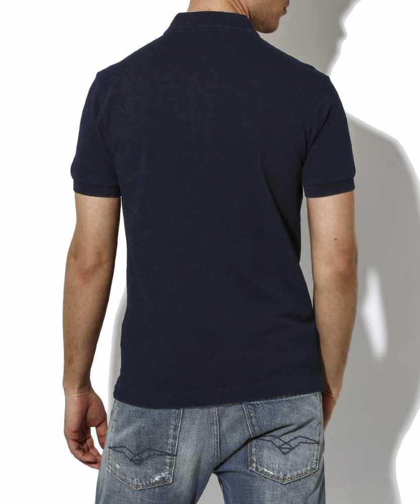 デニムポロシャツ