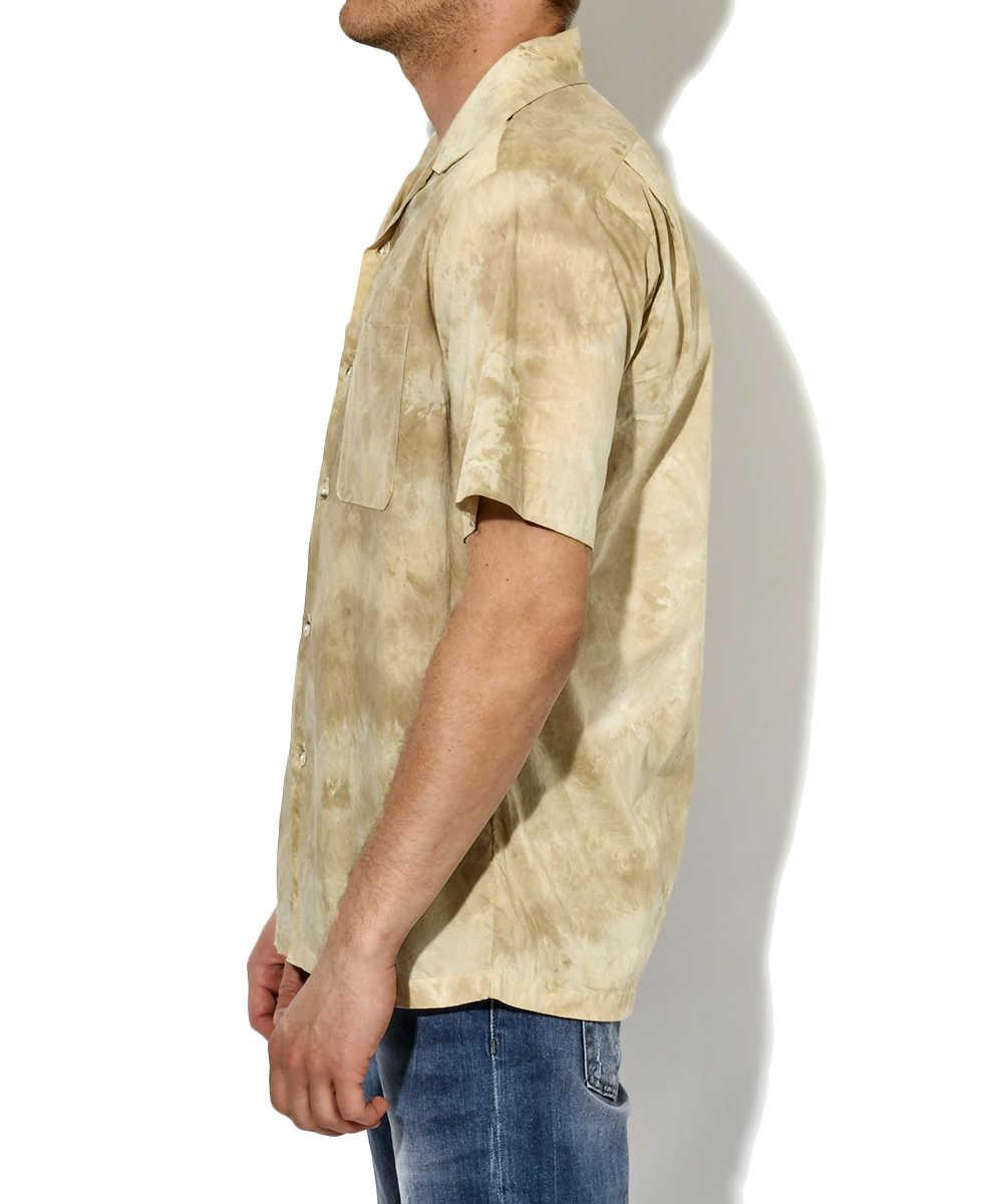 タイダイ柄半袖シャツ