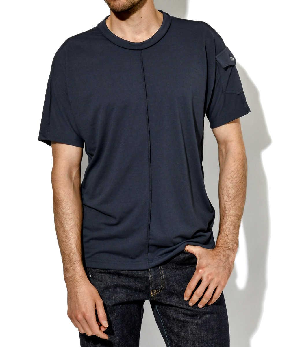 ドライ天竺クルーネックTシャツ
