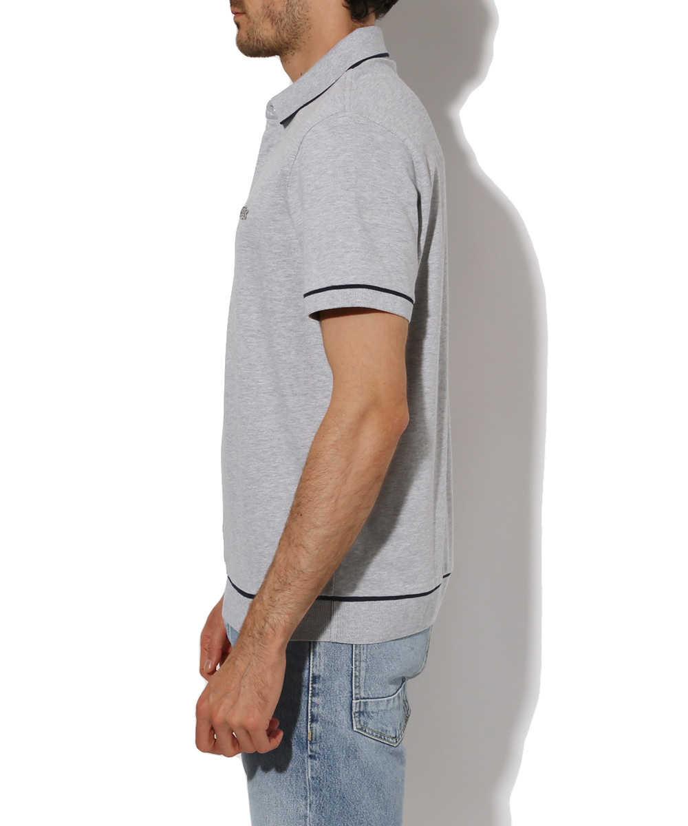リブポロシャツ