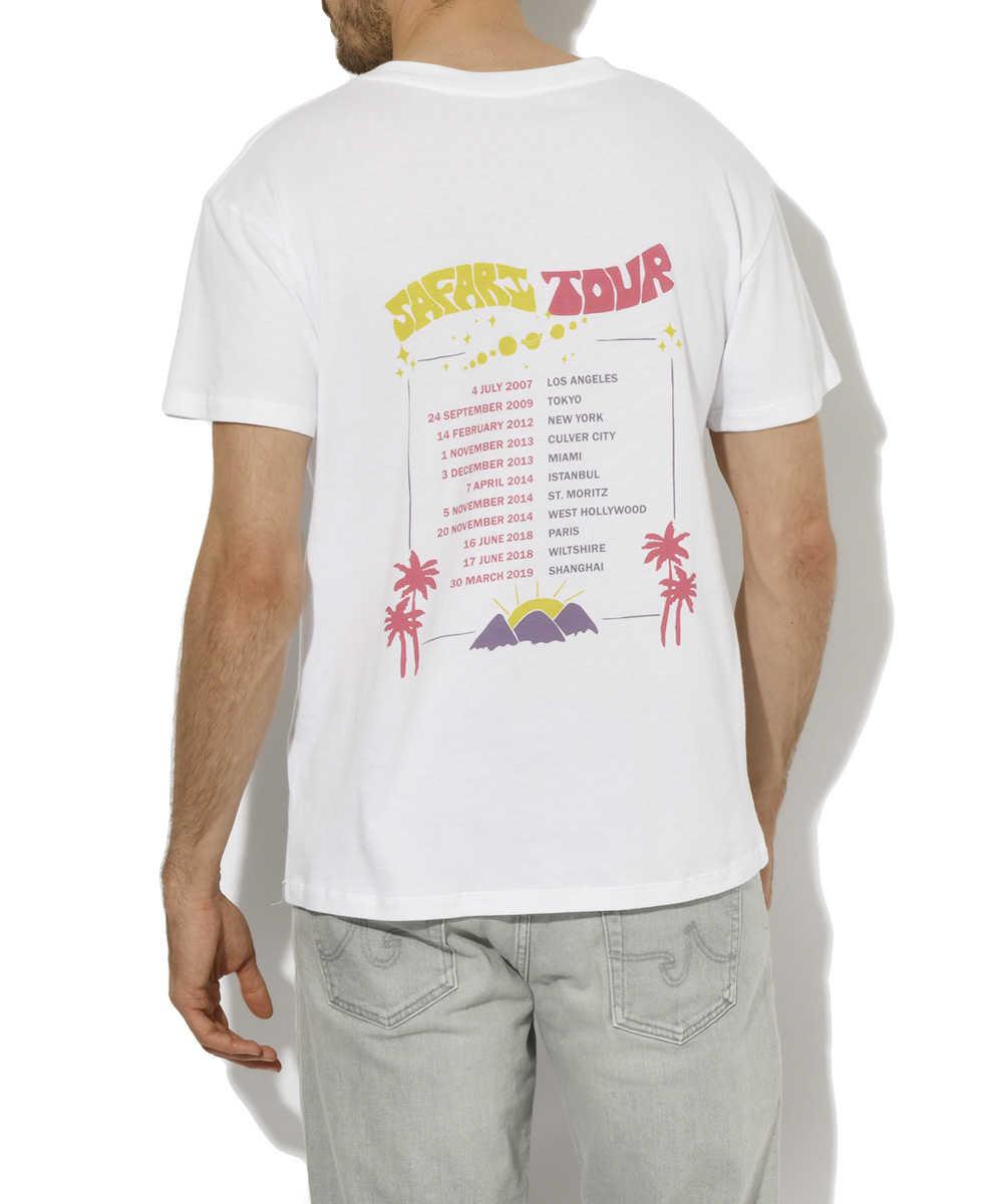 "【Safari Lounge10周年記念別注・限定販売商品】""Safari TOUR""クルーネックTシャツ"
