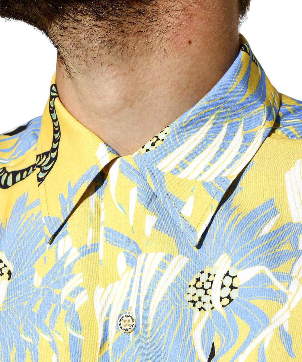 【先行販売商品】レインスプーナー×アメリカンラグシー アロハシャツ