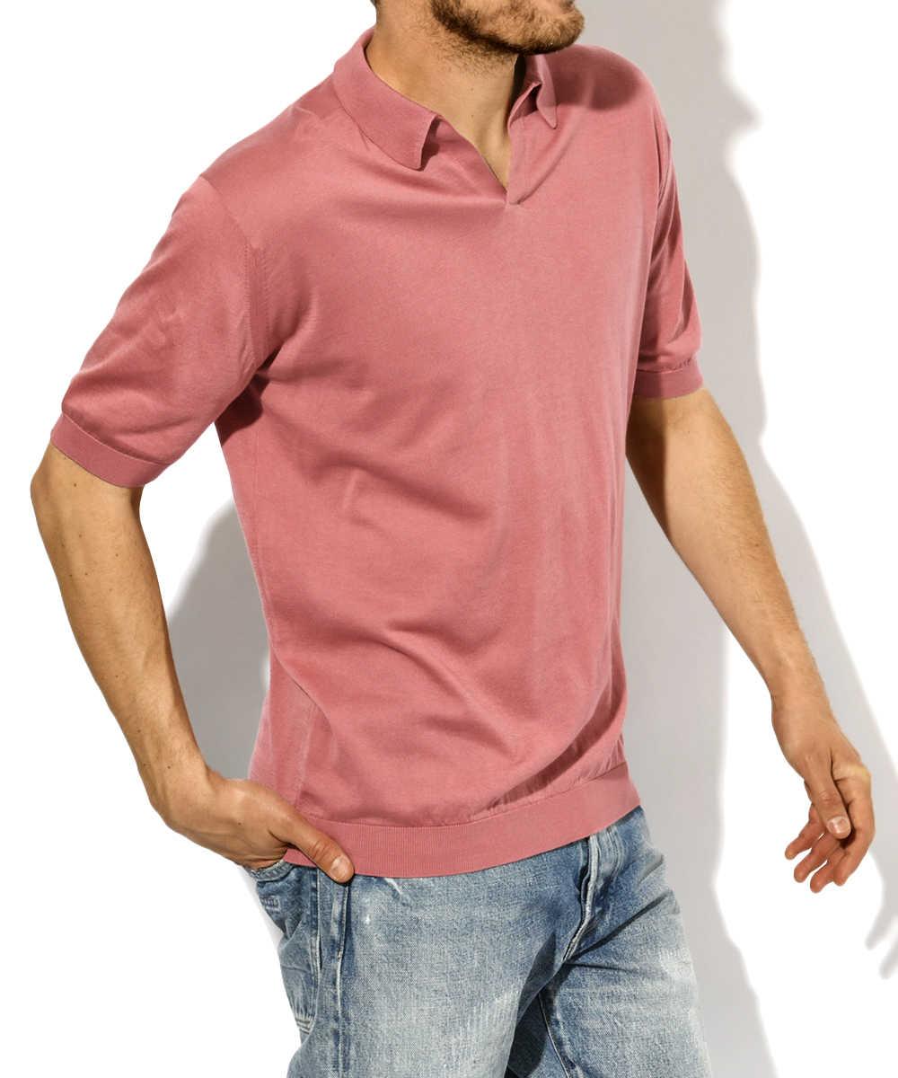 スキッパーショートスリーブポロシャツ