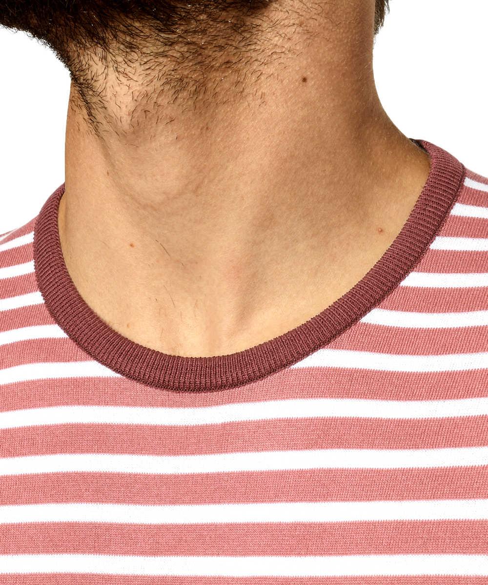 ボーダークルーネックTシャツ