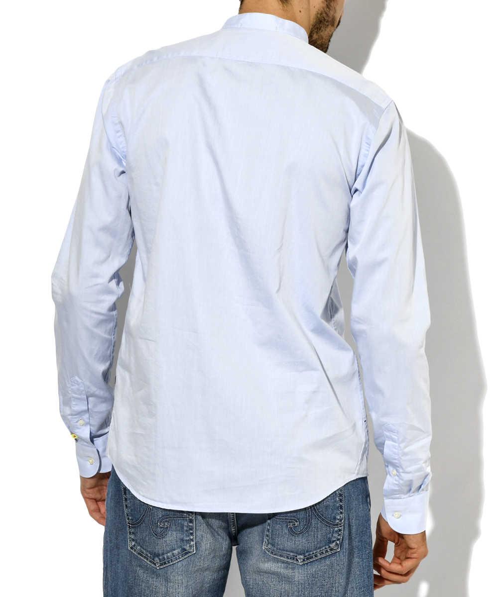 マオカラーシャツ