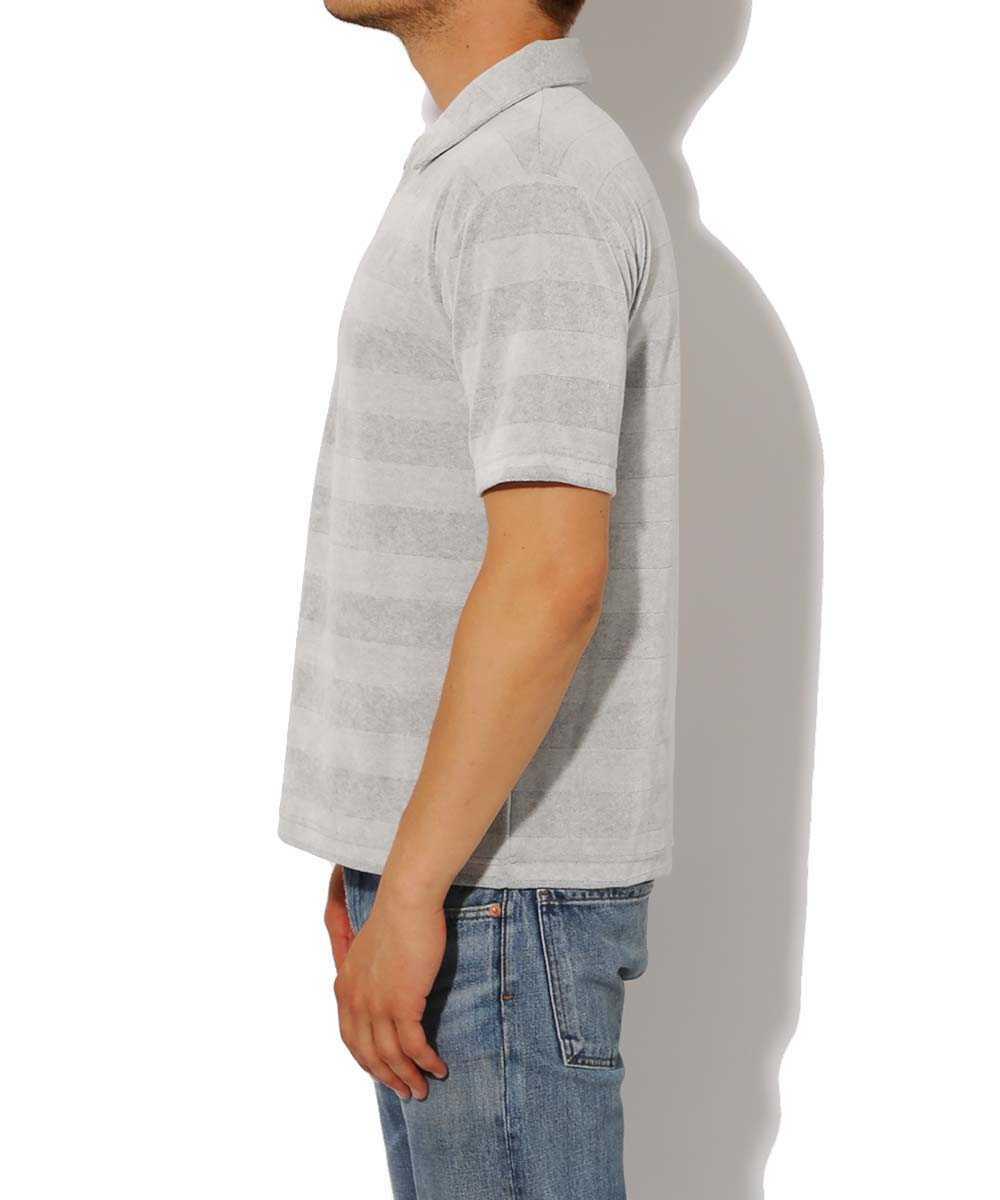 ビッグボーダーベロアポロシャツ