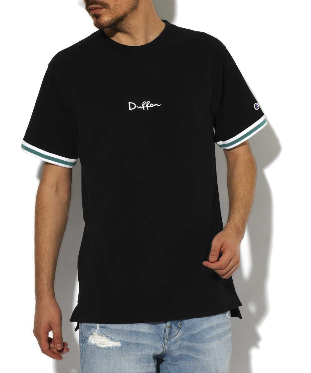 ダファー×チャンピオン 鹿の子クルーネックTシャツ