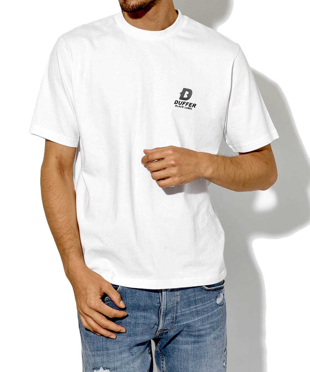 ブラックレーベル ツアークルーネックTシャツ