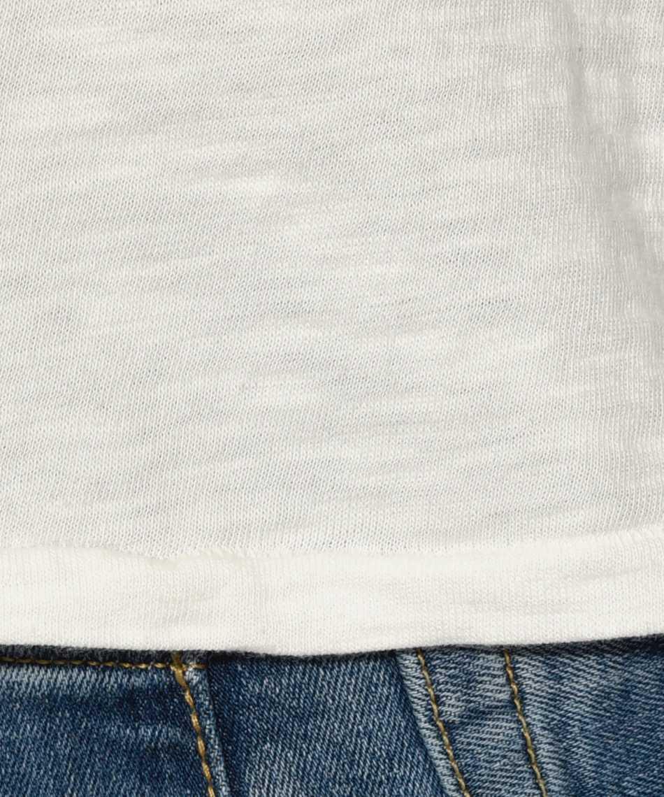 パームストライプス×ベルバシーン クルーネックプリントTシャツ