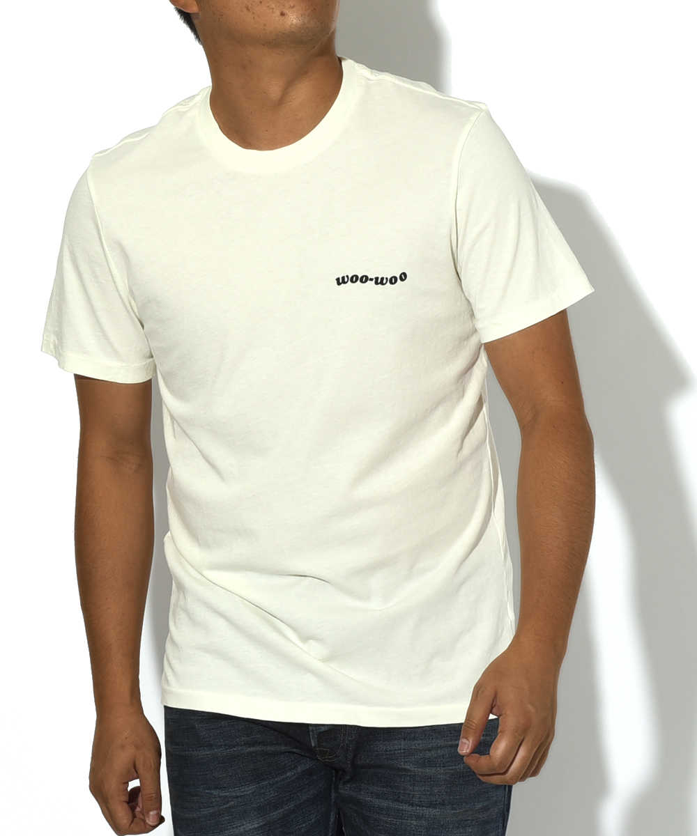 クルーネックTシャツ