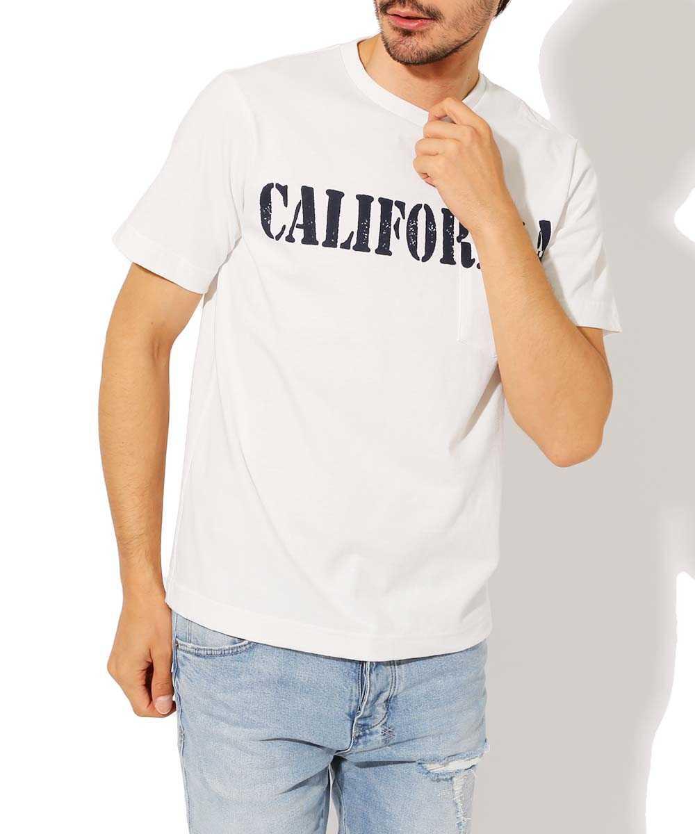 """""""CALIFORNIA""""クルーネックTシャツ"""