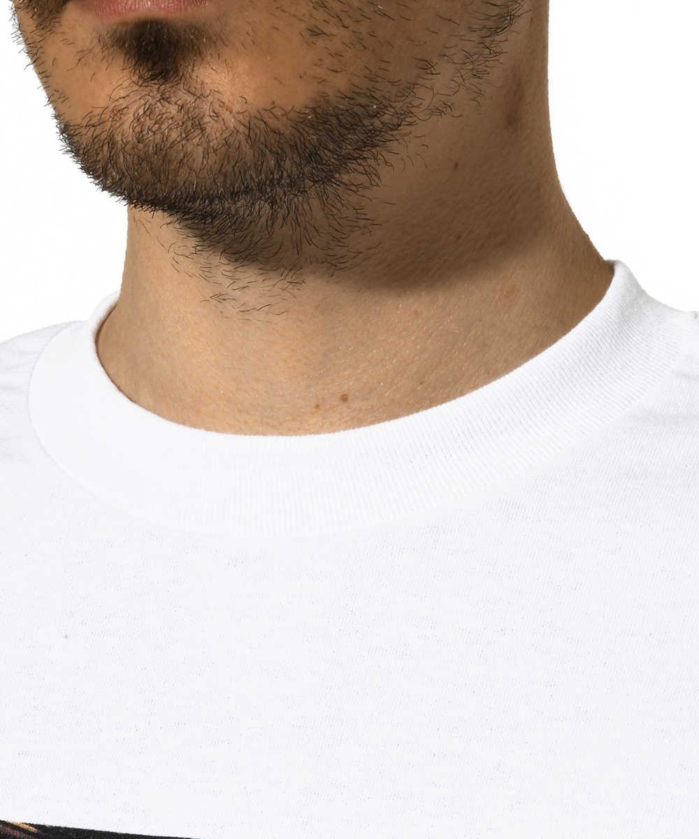 """""""ヒュー ヘフナー""""クルーネックプリントTシャツ"""