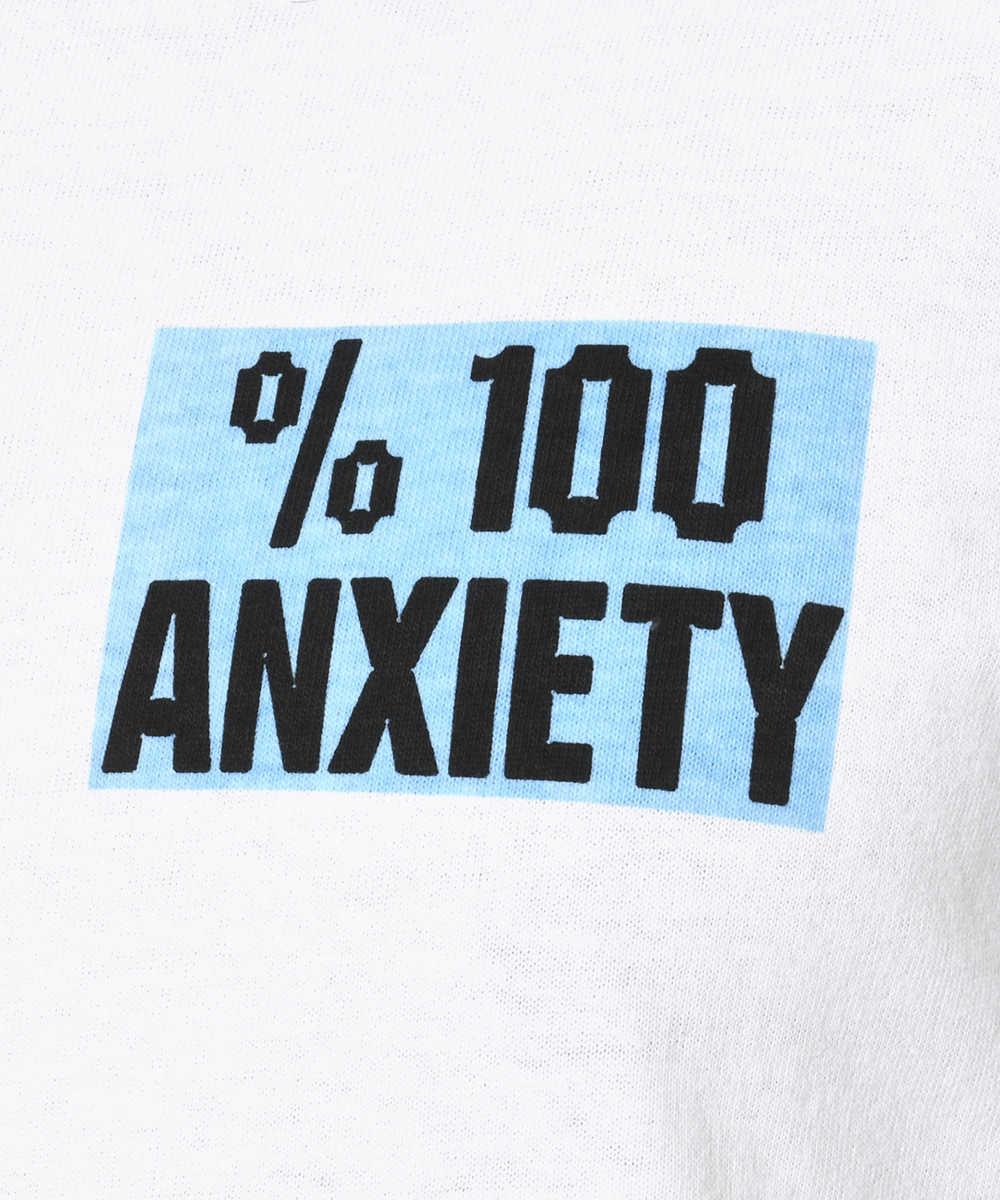"""""""%100""""クルーネックプリントTシャツ"""