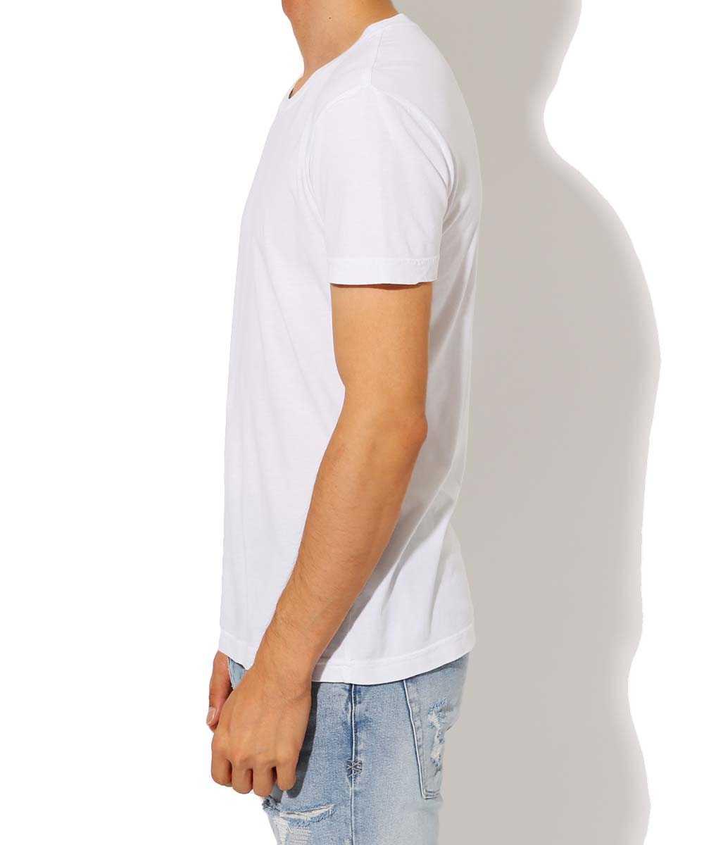 2枚組ボックス クルーネックTシャツ