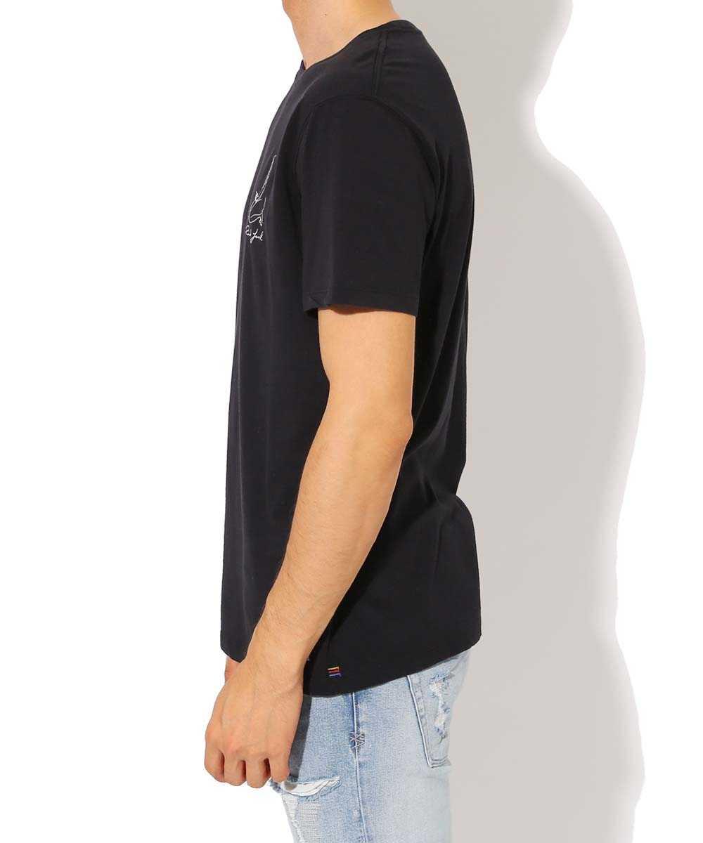 バンクス ジャーナル×キャサリン レックス クルーネック刺繍Tシャツ