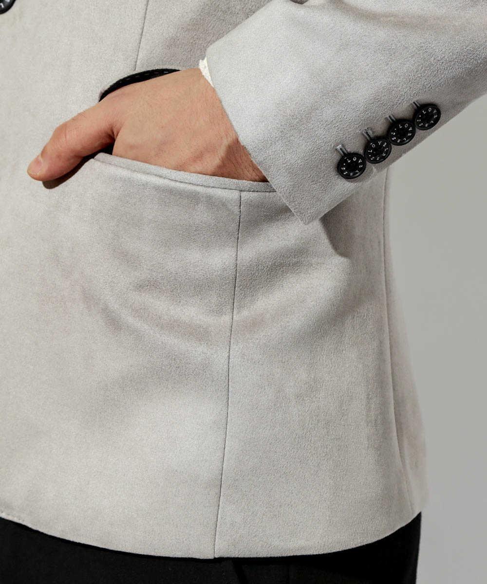 ポンチスウェードジャケット