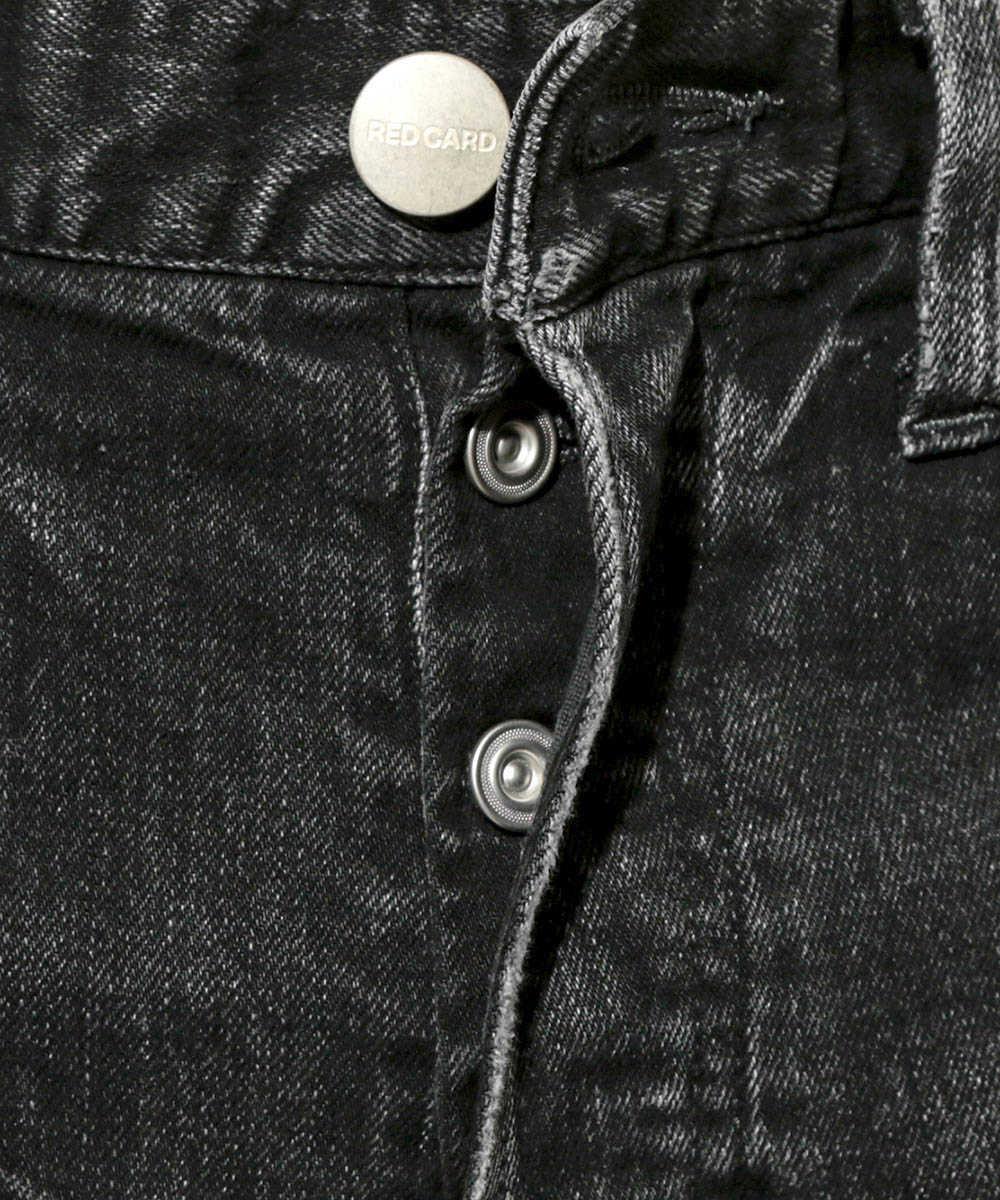 【別注・限定販売商品】ブラックダメージデニムパンツ