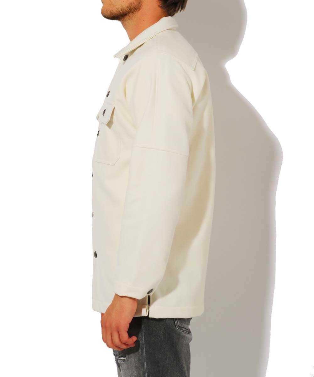 フランネルシャツジャケット