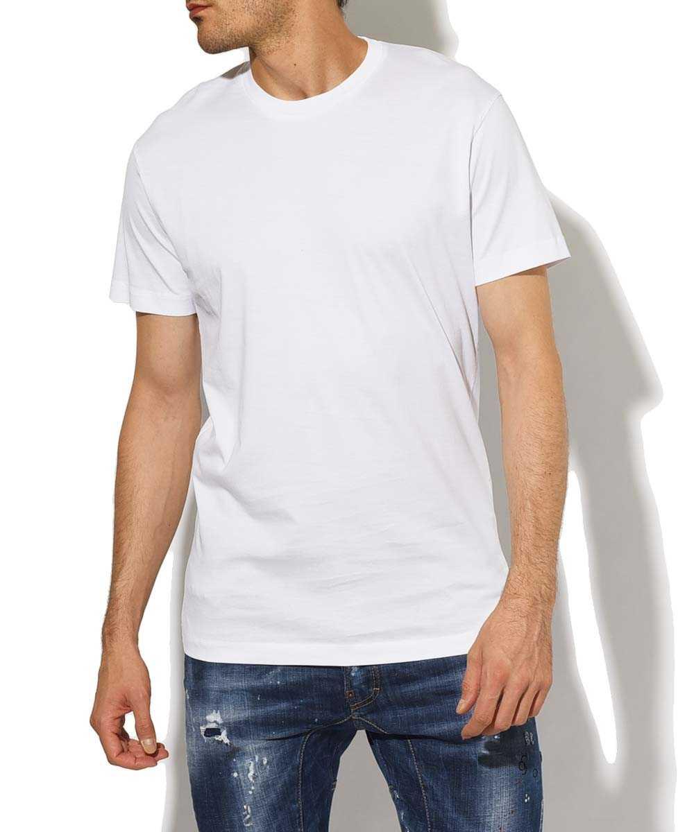 バックロゴ クルーネックプリントTシャツ