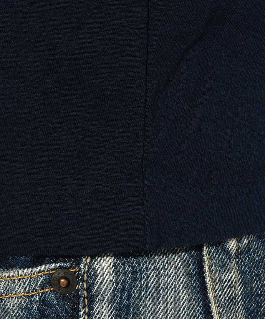 ロングスリーブクルーネックポケットTシャツ
