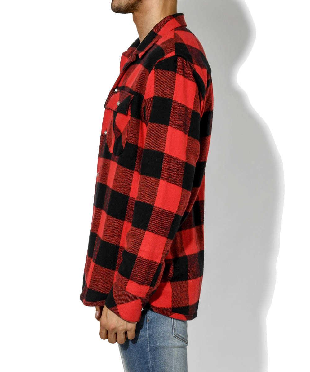 【別注・限定販売商品】バッファローチェック開襟シャツ
