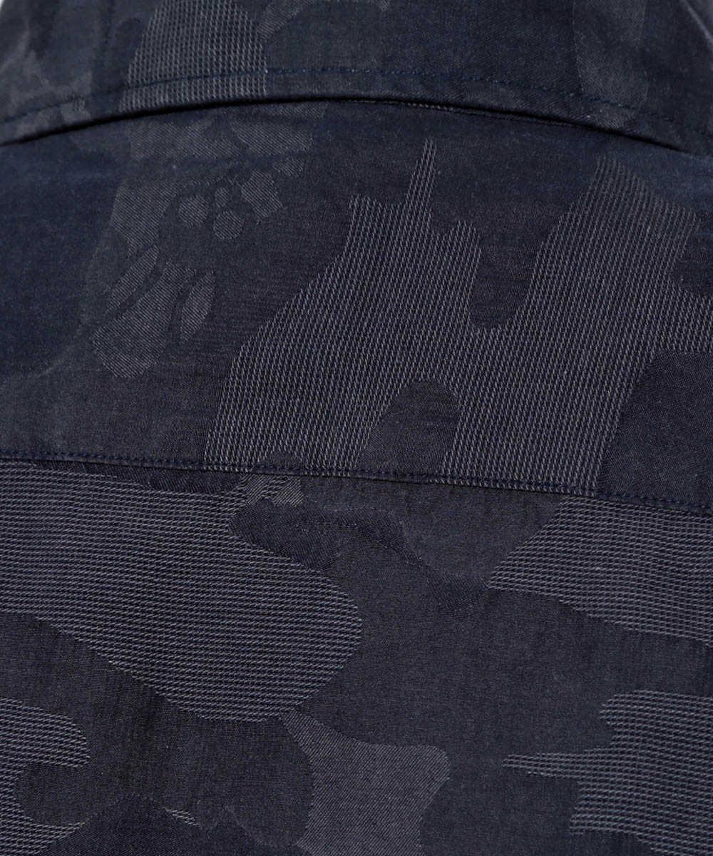 ジャガードカモバニーシャツ
