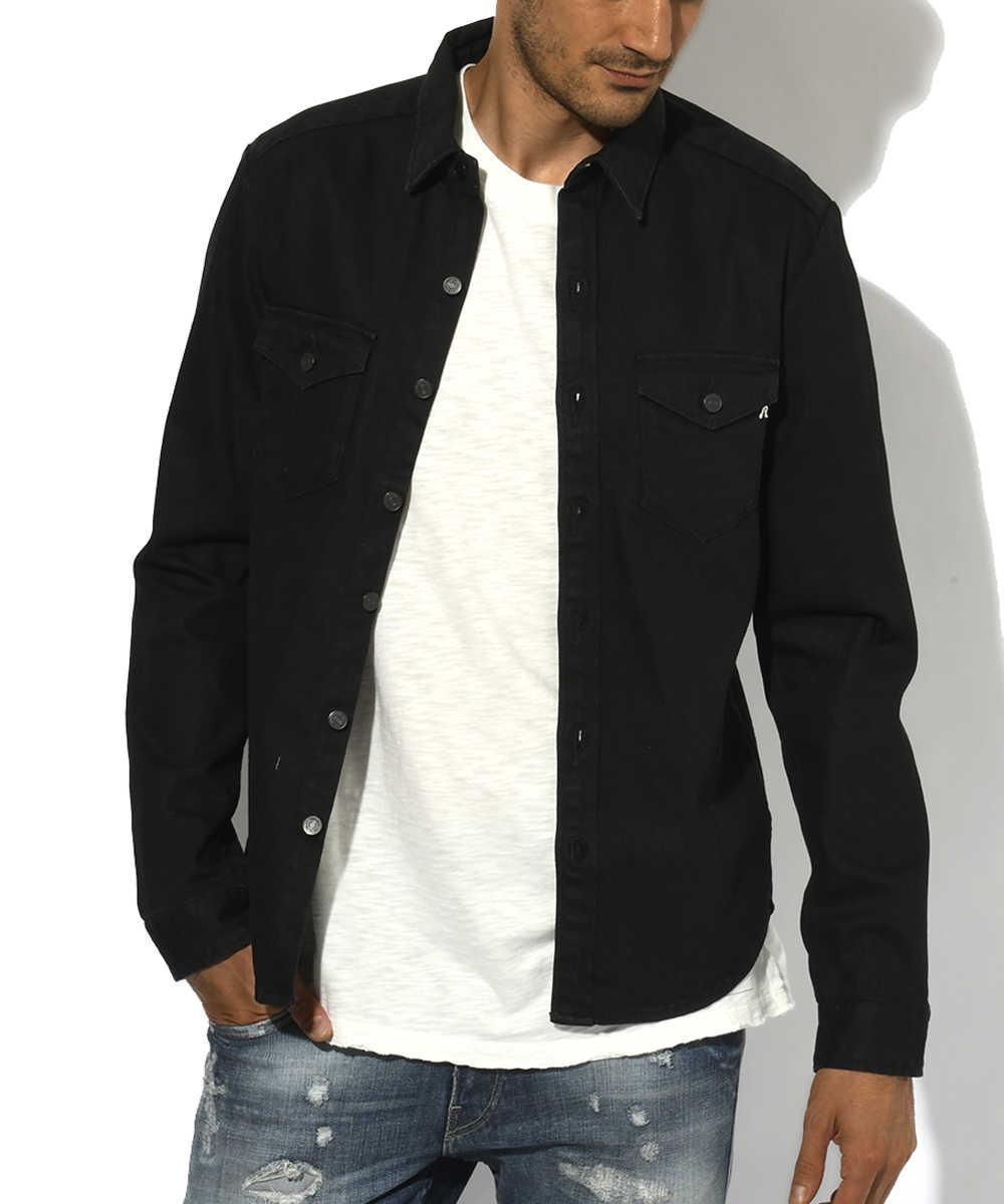 デニムシャツジャケット