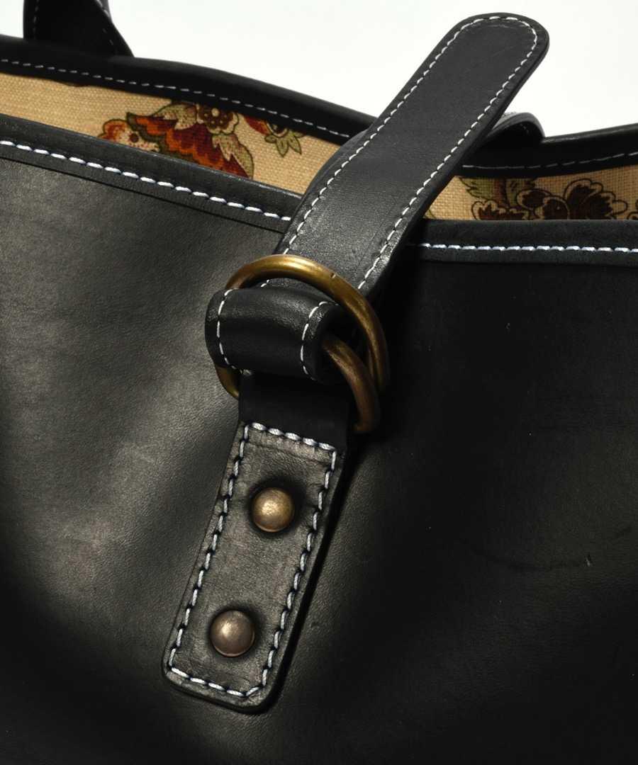 【別注・限定販売商品】刺繍入りレザートートバッグ