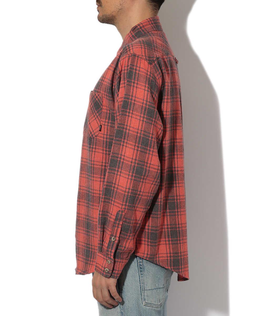 オーバーサイズチェックシャツ