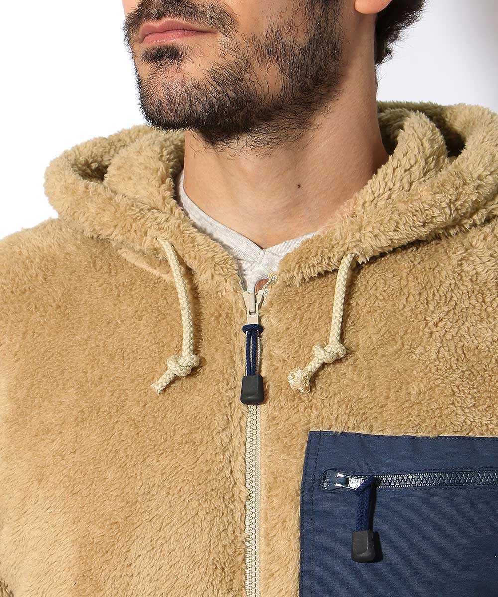 ジップアップマイクロフリースジャケット