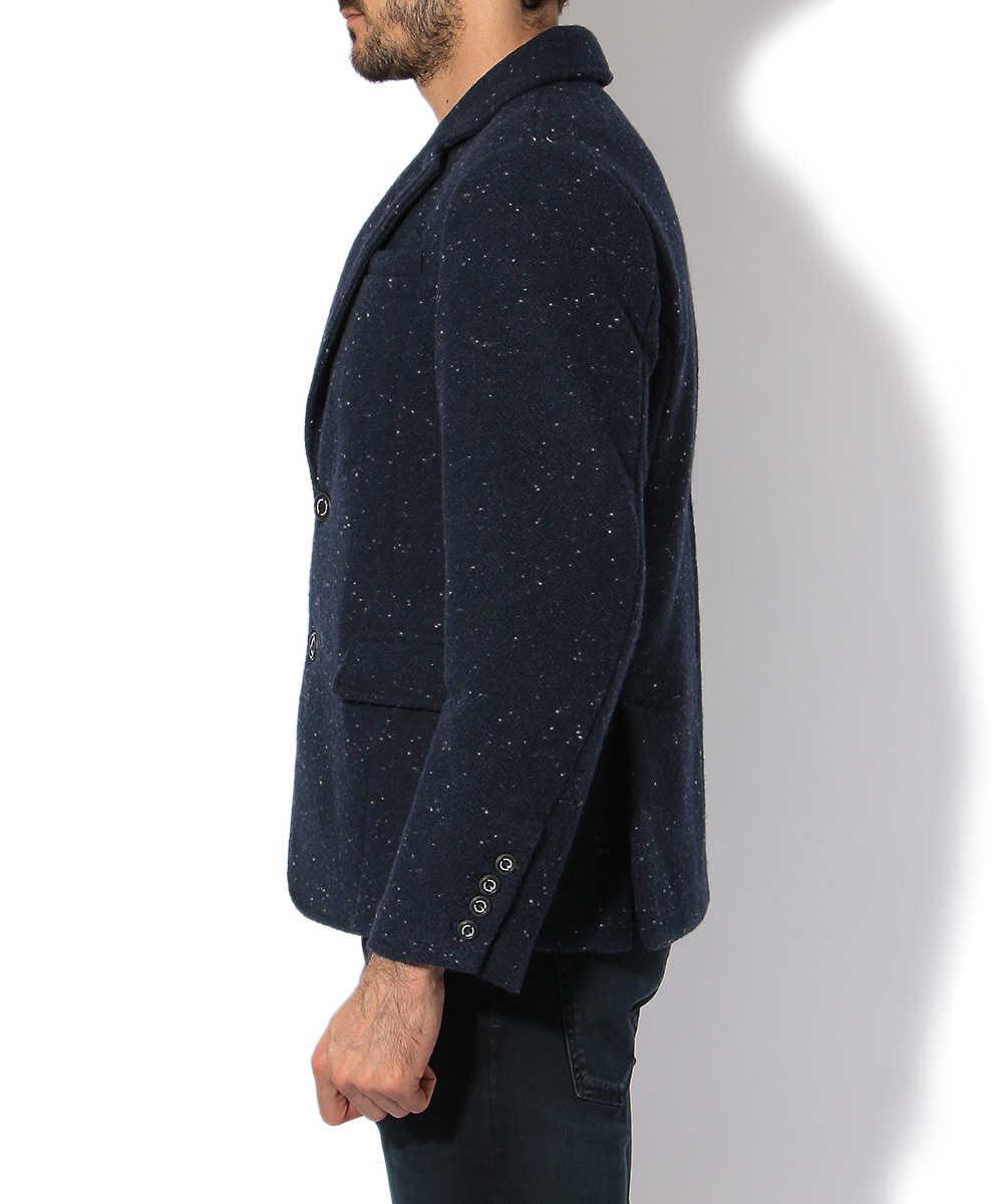 ウールツイードテイラードジャケット
