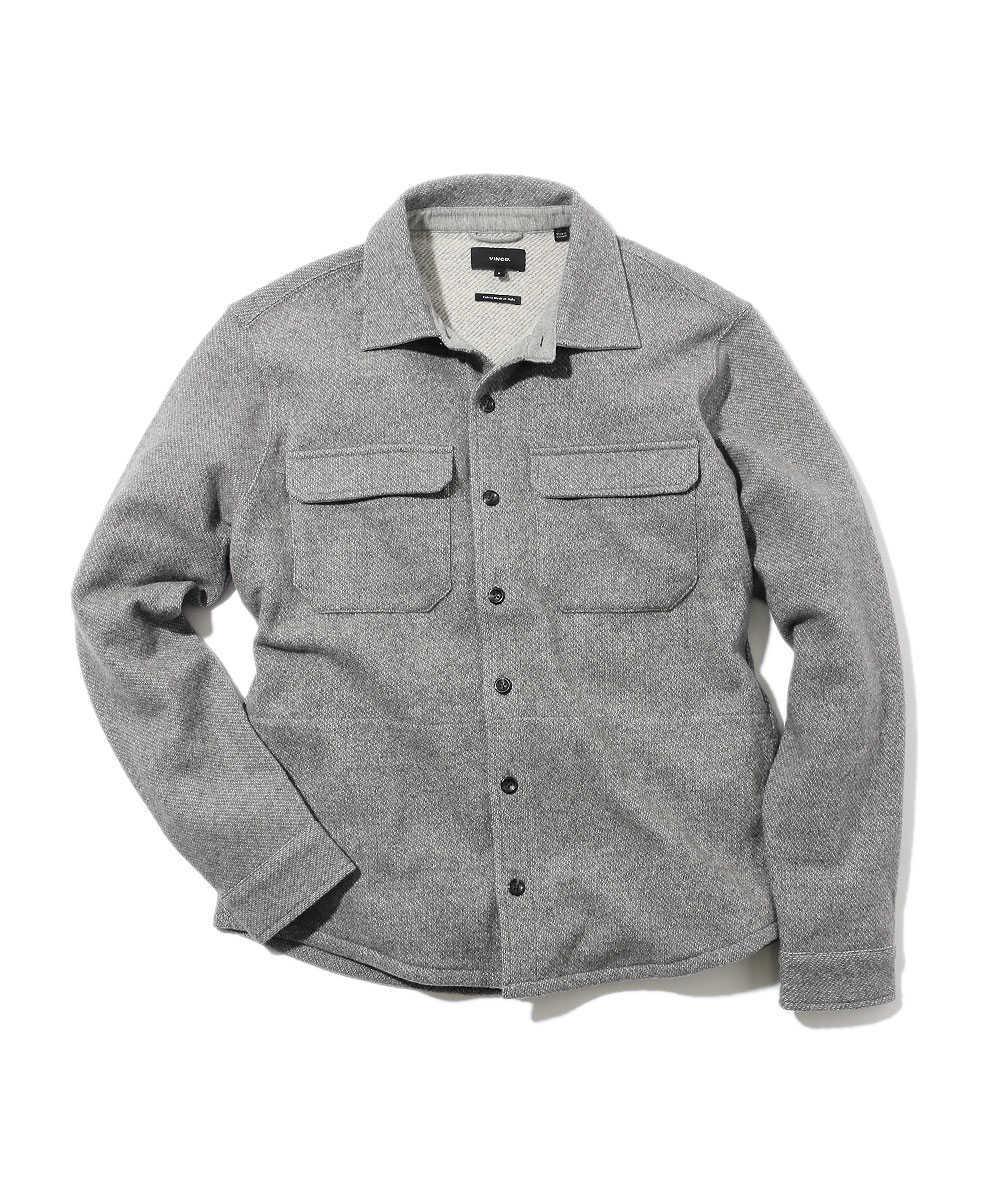 ウールシャツジャケット