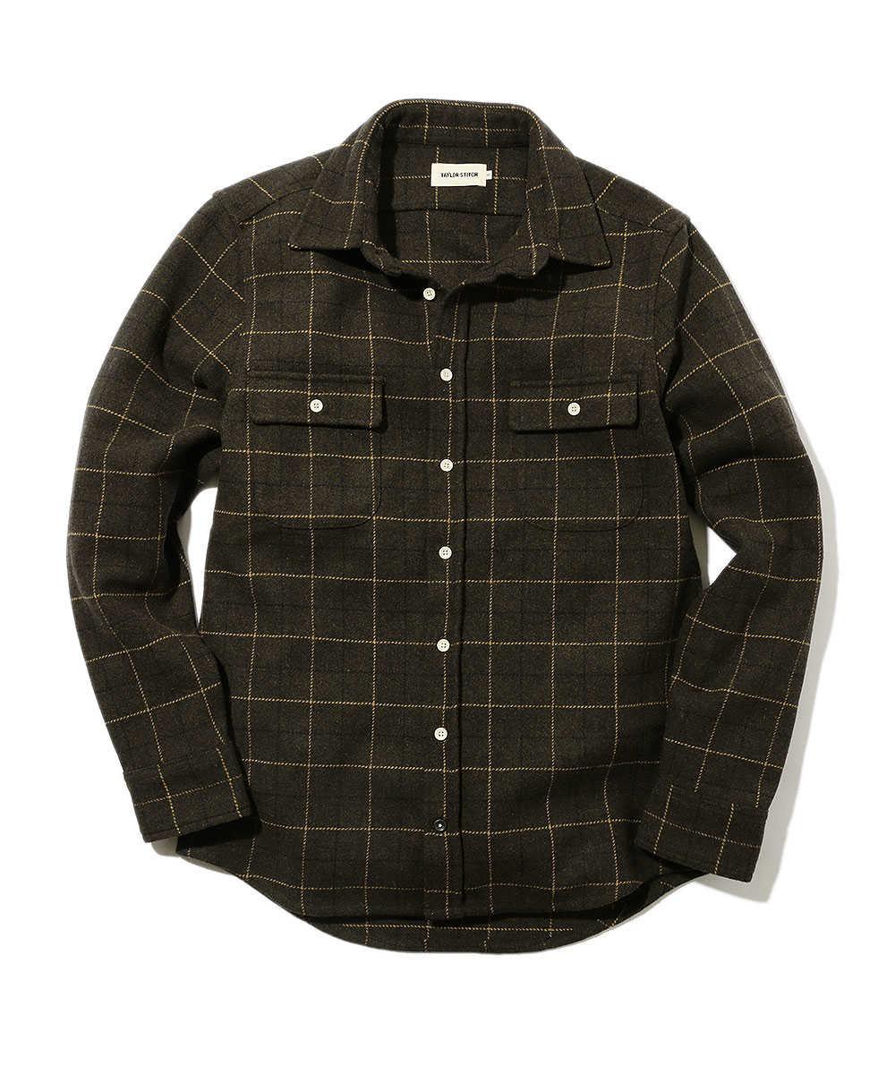 ドニゴールウールシャツ