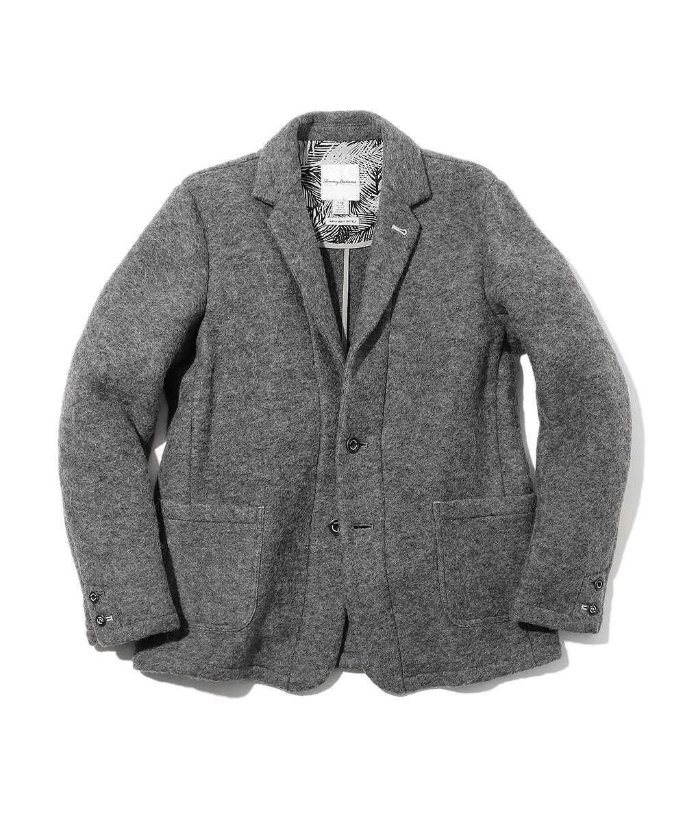 ウールテーラードジャケット