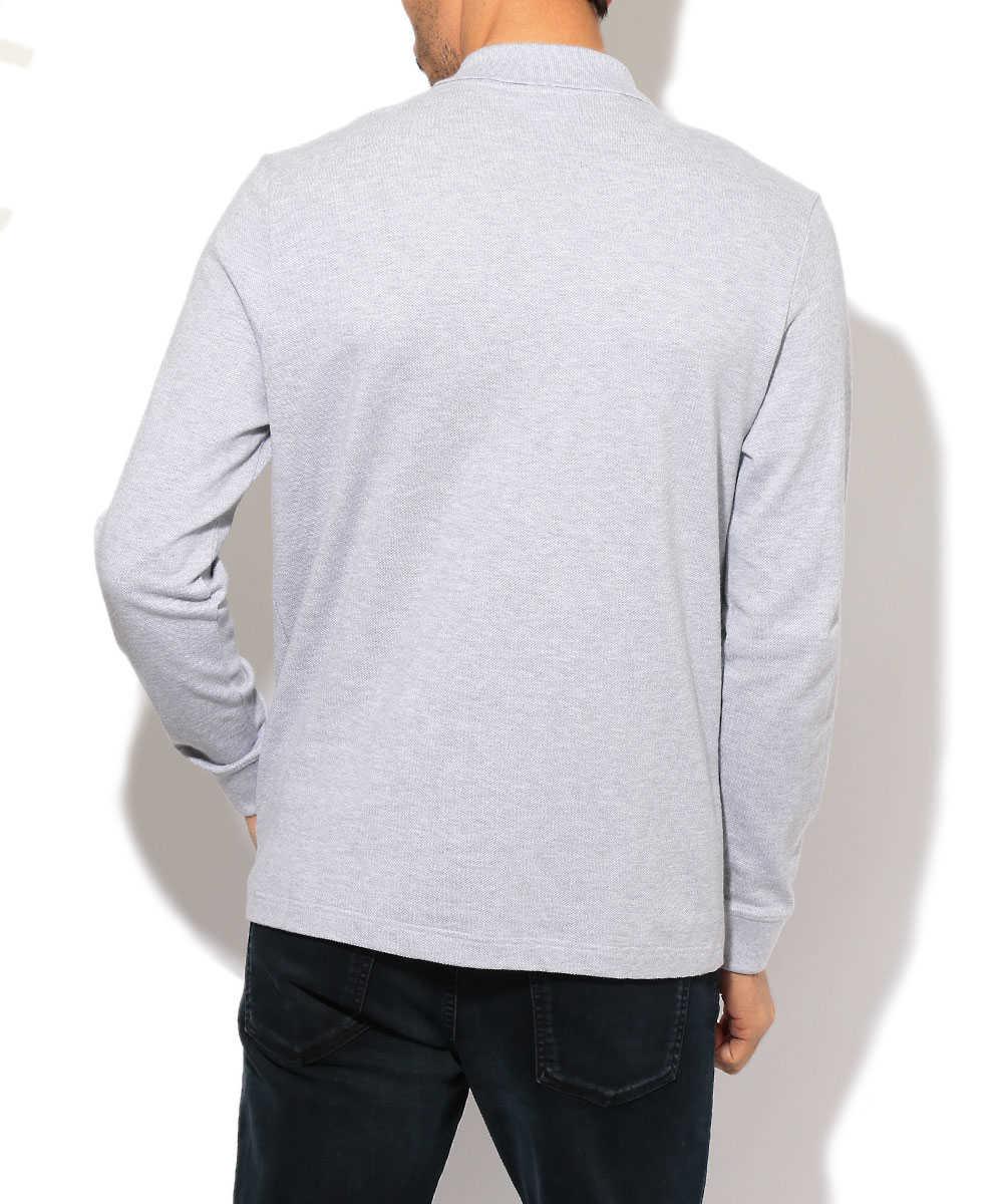ロングスリーブロゴポロシャツ