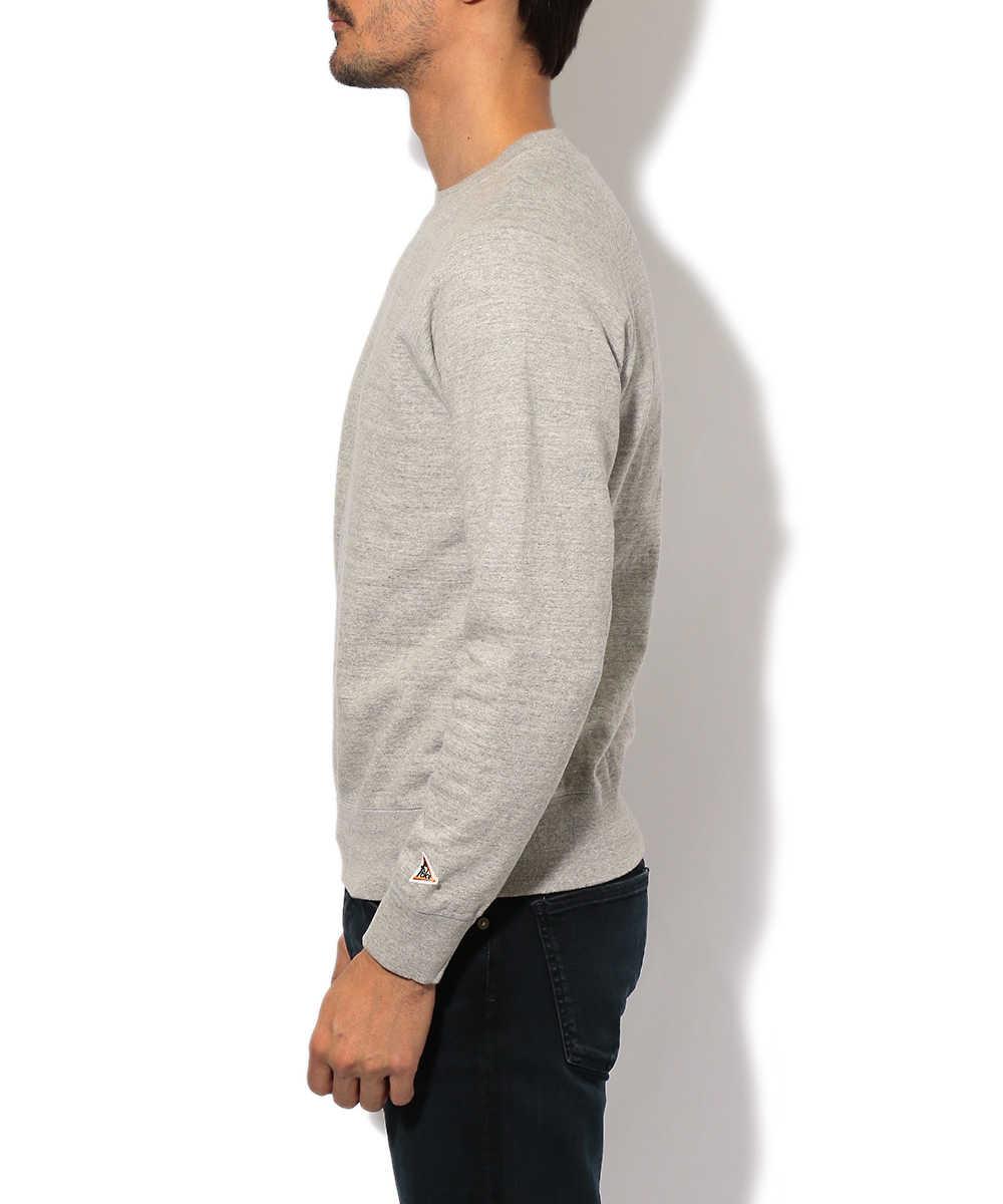 ラグランクルーネックスウェットシャツ