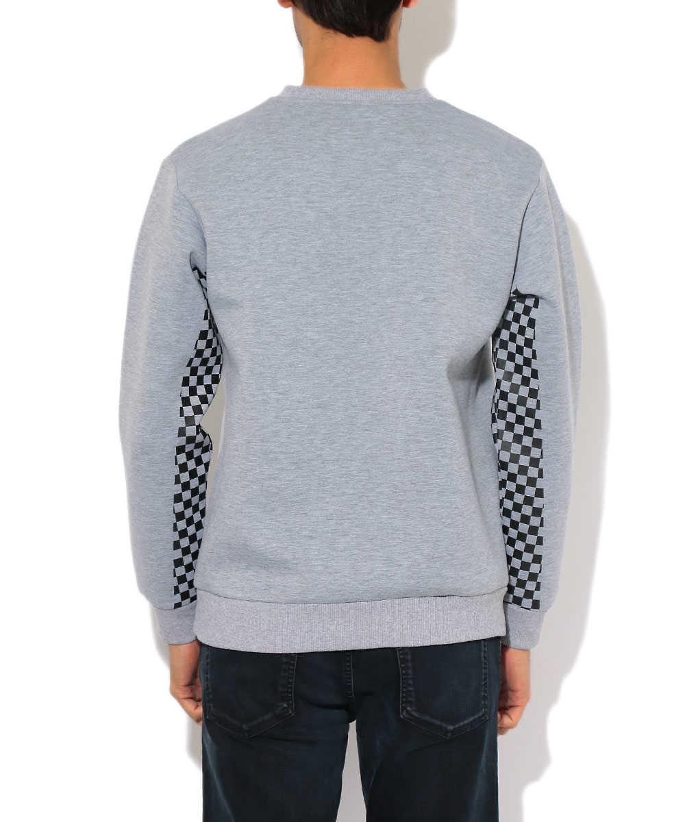 【ブラックレーベル】クルーネックチェッカーシャツ