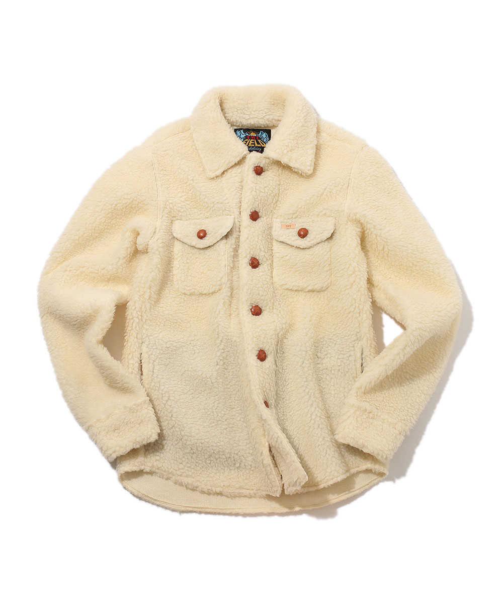 ボアシャツジャケット
