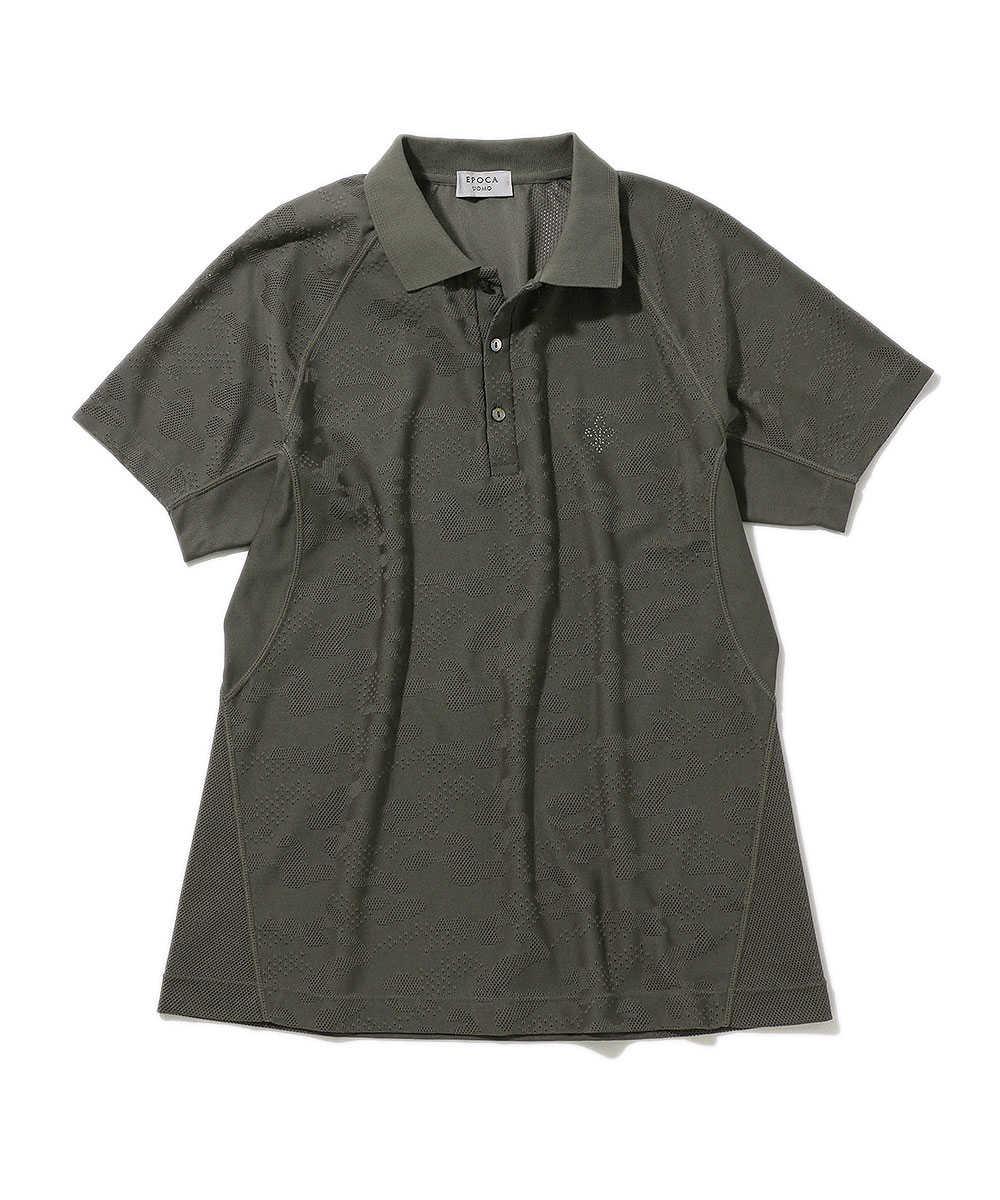 【別注商品】カモフラジャカードポロシャツ