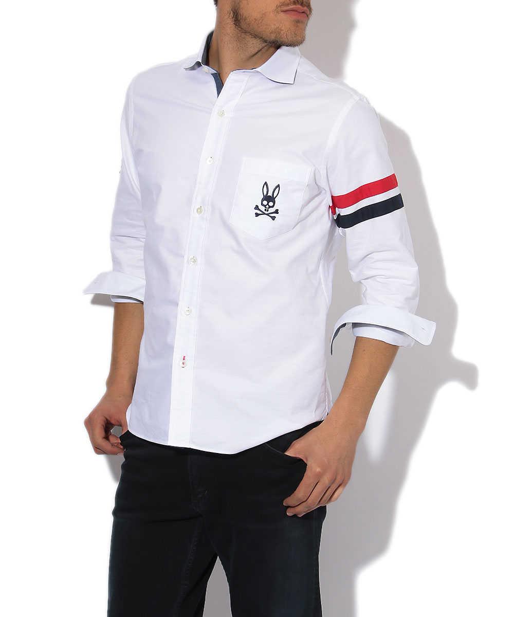 トリコライン オックスシャツ
