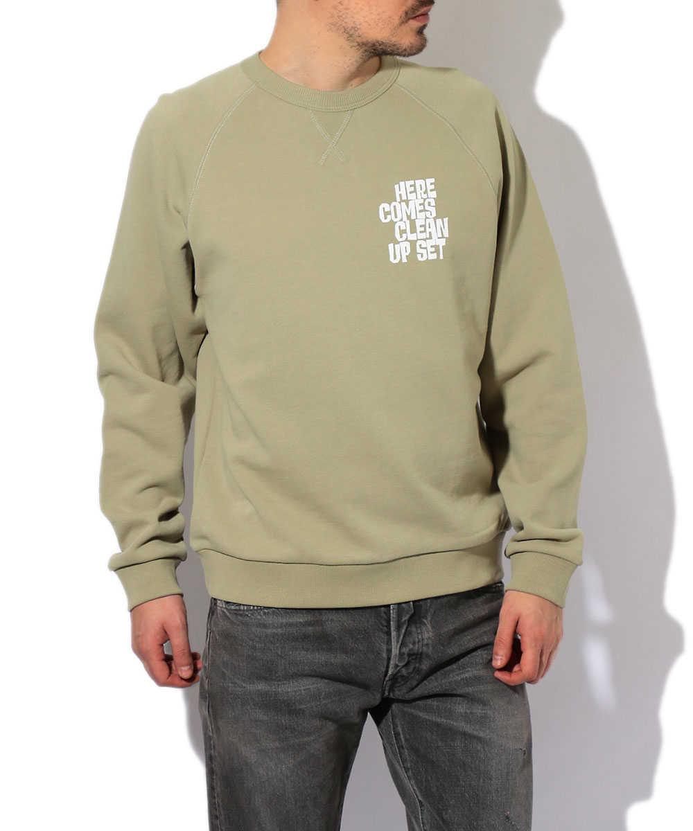 【別注・先行商品】クルーネックスウェットシャツ