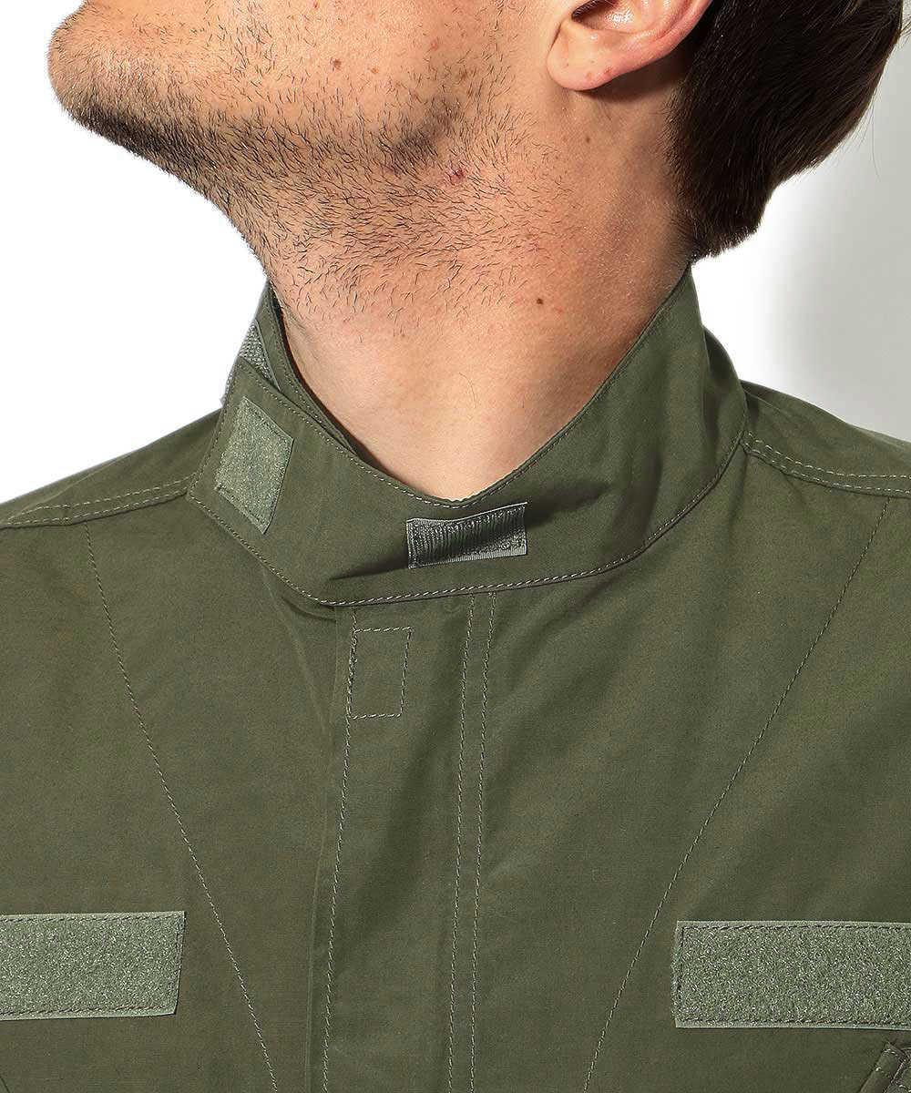 スタンドシャツジャケット