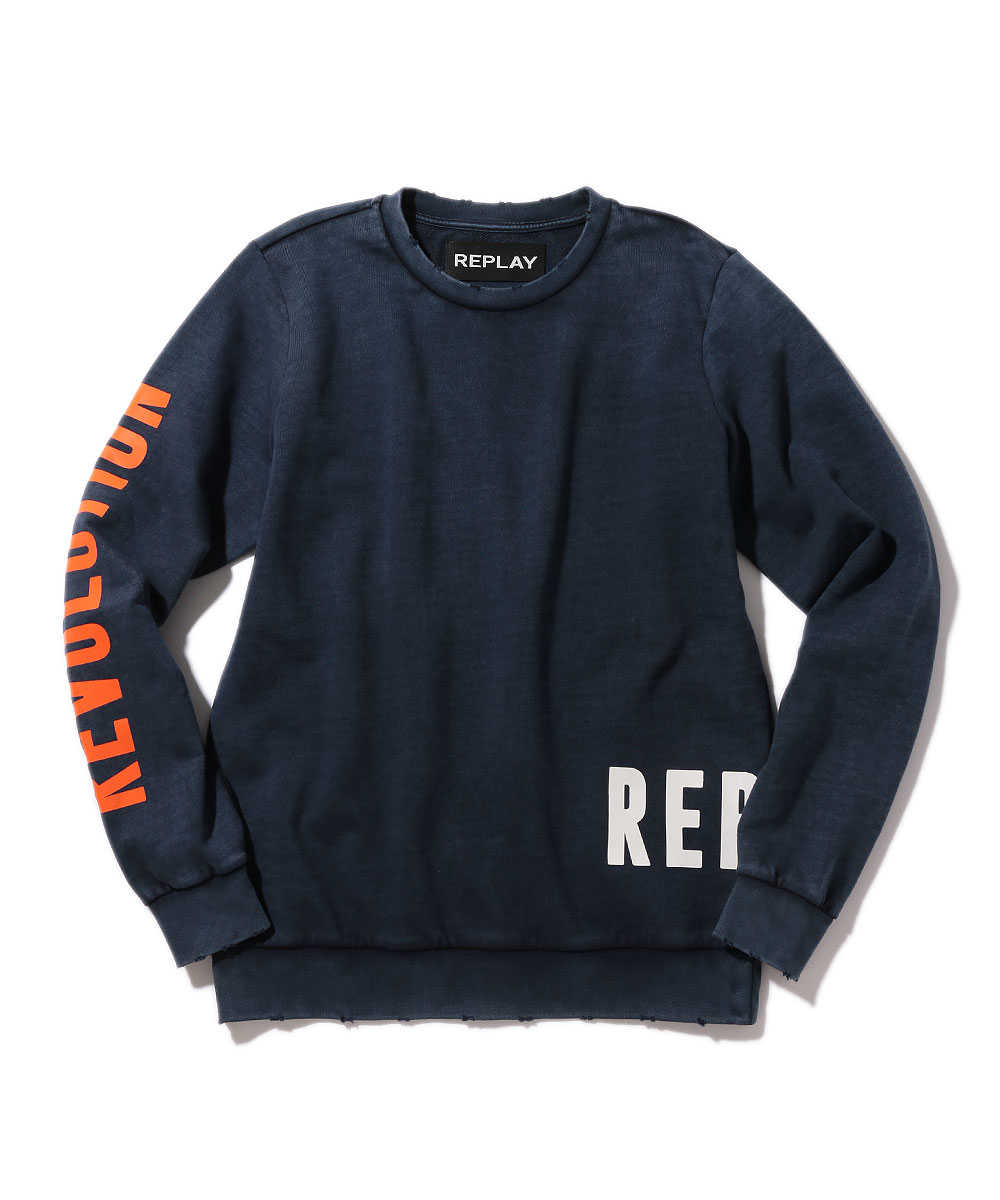 ロゴスウェットシャツ