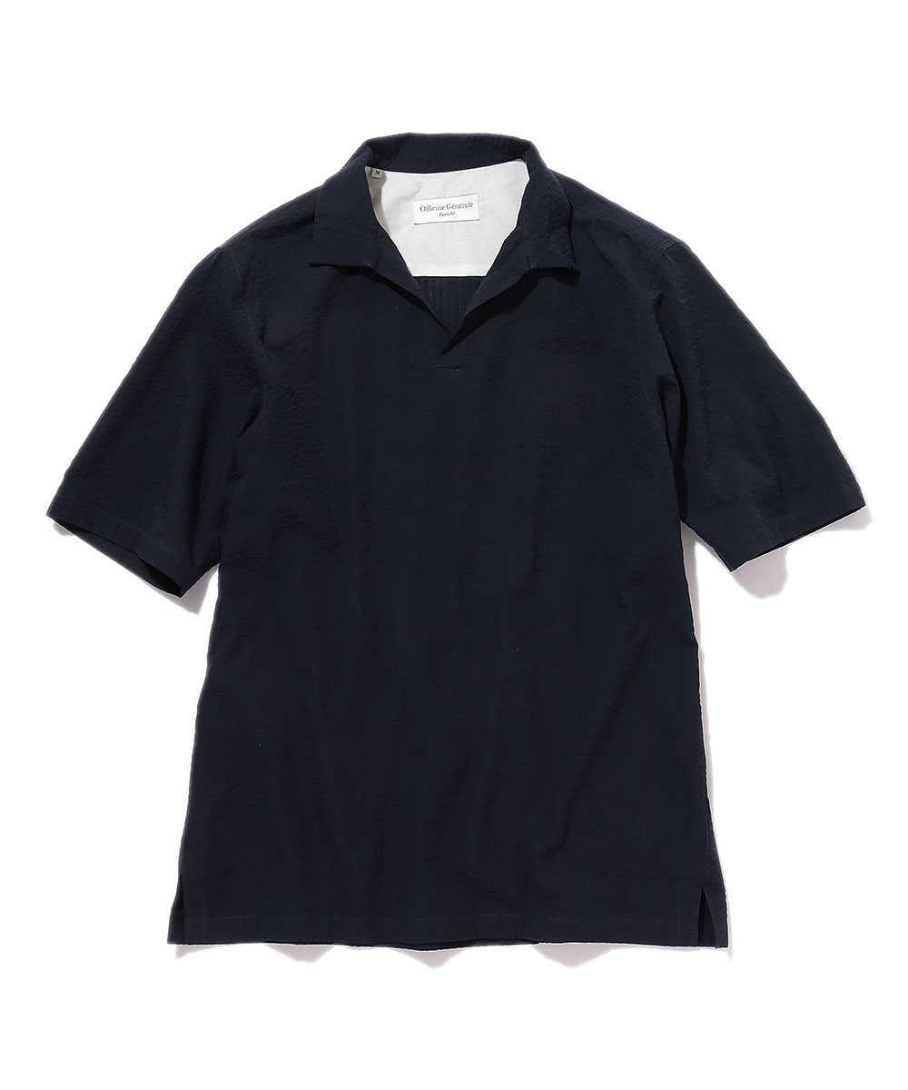 スキッパーオーバーシャツ