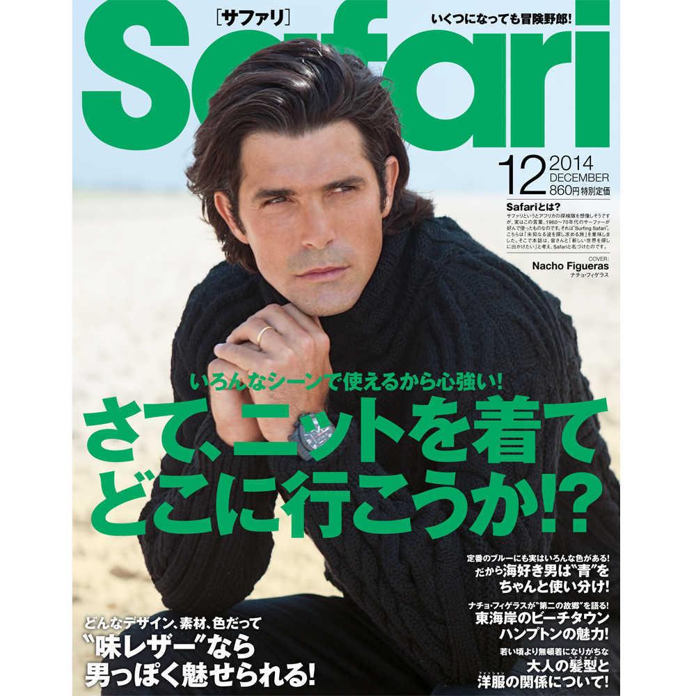 Safari 12月号2014年