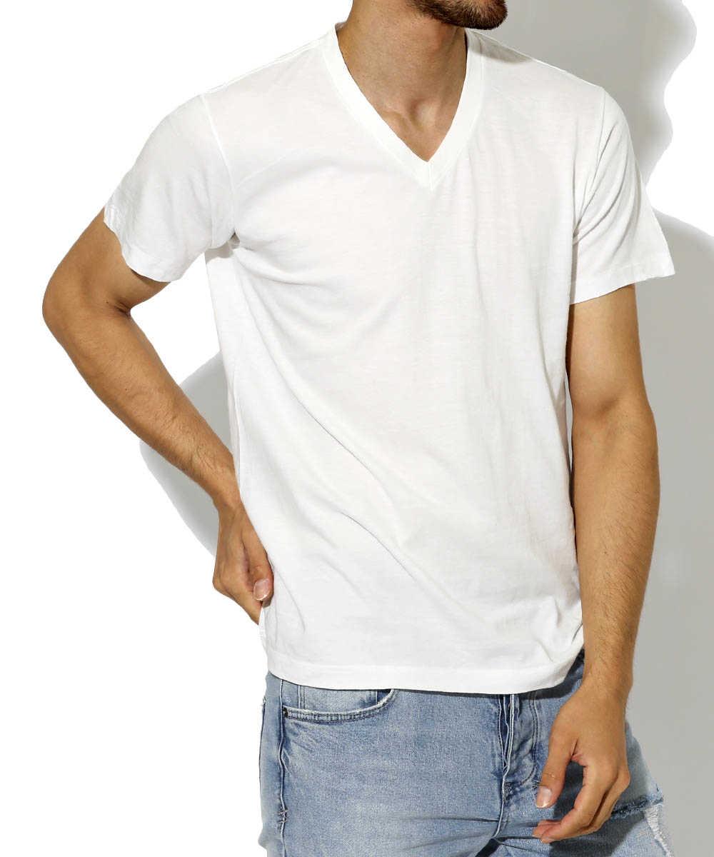 """""""ビクター""""VネックTシャツ"""