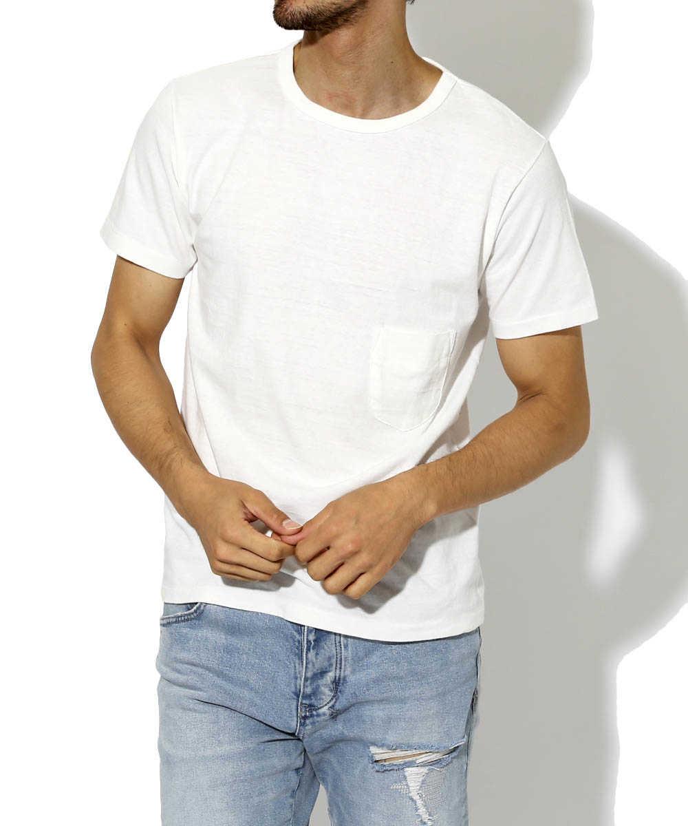 """""""ジェームス""""クルーネックTシャツ"""