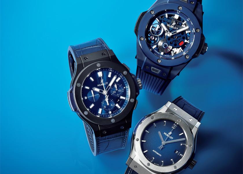 new products 9be74 4299d リッチでスポーティな時計も濃紺なら品のよさがケタ違い ...